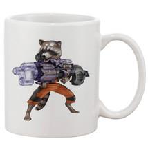 Rocket Raccoon Gun Funny Coffee Mug Tea Cup Gift For Him - $13.99