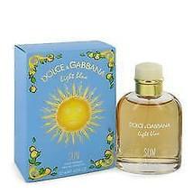 Light Blue Sun Cologne By  DOLCE & GABBANA  FOR MEN  4.2 oz Eau De Toile... - $79.75