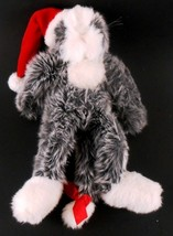 "Ganz Heritage Collection SAMARA Christmas Kitty Cat Floppy Plush 14"" tall 1999 - $11.87"