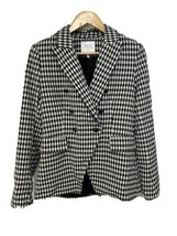 NEW Maison d'Amelie Paris Black White Gingham Gingham Blazer - Women's S... - $44.95
