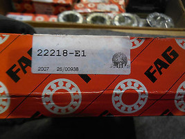 FAG 22218-E1 Spherical Roller Bearing New image 2