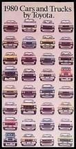 1980 Toyota Car & Truck Brochure Celica, Land Cruiser - $7.65