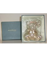 Reed & Barton Baby Girl silver-plated Bear Bank pinwheel shower gift boxed  - $47.77