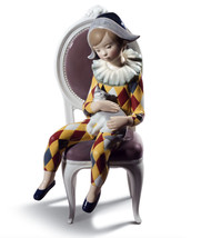 Lladro 8688 LITTLE HARLEQUIN (RED / YELLOW) 01008688 New in original box - $712.80