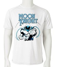Moon Knight Dri Fit graphic T-shirt moisture wicking retro superhero  SPF tee image 2