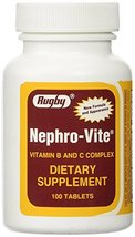Nephro-Vite Tablets, 100 Count Per Bottle 2 Pack image 8