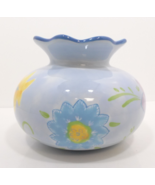 Hallmark Kimberly Hodges Floral Yellow Blue Green Vase - $19.99