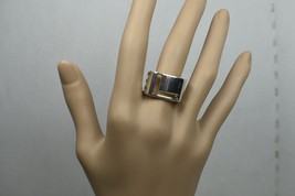 Authentic Tiffany &Co ERA L-O-V-E Stencil Ring Sterling Silver Sz 8 Reti... - $405.95