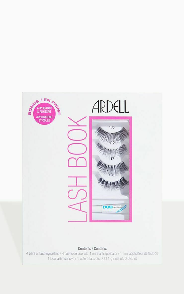 Primary image for Ardell Lash Book Set• False Eyelashes w/Applicator & Adhesive•New in Package