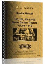 Case 200 Lawn & Garden Tractor Service Manual [Plastic Comb] [Jan 01, 20... - $153.34