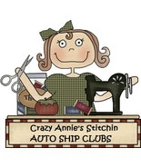 AUTO SHIP CLUB Country Cottage Needleworks at Crazy Annies Stitchin cros... - $0.00
