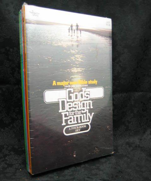 God's Design for the Family  The Navigators 4 Volume Set