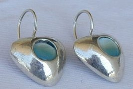 Light blue hearts B - $25.00