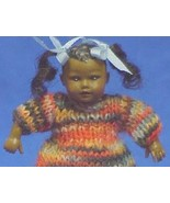 Dollhouse Black Ethnic Baby HOXB021 Dressed Hei... - $38.00