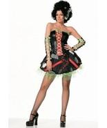 S Lolita Gothic Goth Cosplay Emo Crinoline Steam Punk Dress Arm Warmers Set - $28.70