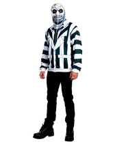 Beetlejuice Hoodie Adult Mens Teens Funny Ghost Jacket Halloween Costume - £23.44 GBP