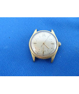 VINTAGE SCHENLEY TIME ALPHA BUMPER AUTOMATIC 17 JEWEL WATCH TO RESTORE OR PARTS - $169.80
