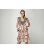 Hayden Harnett Lee Silk Dress Bright Kaleidoscope Medium New - $115.00