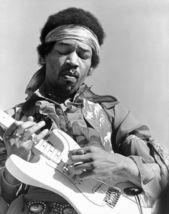 Jimi Hendrix 124ME Vintage 8X10 BW Music Memorabilia Photo - $6.99