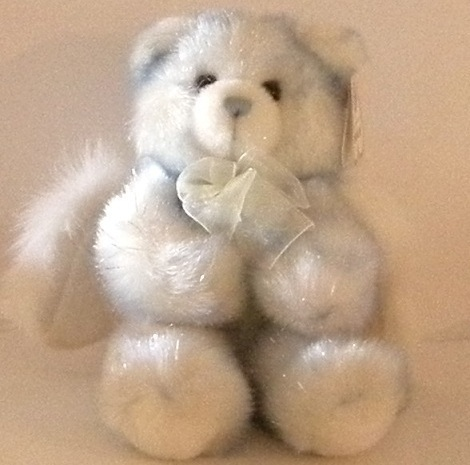 1/2 Price! Aurora Lullaby Musical Blue Moving Angel Bear NWT