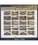 US Postage Stamps Sheet 2001 Baseball Playing F... - $11.88