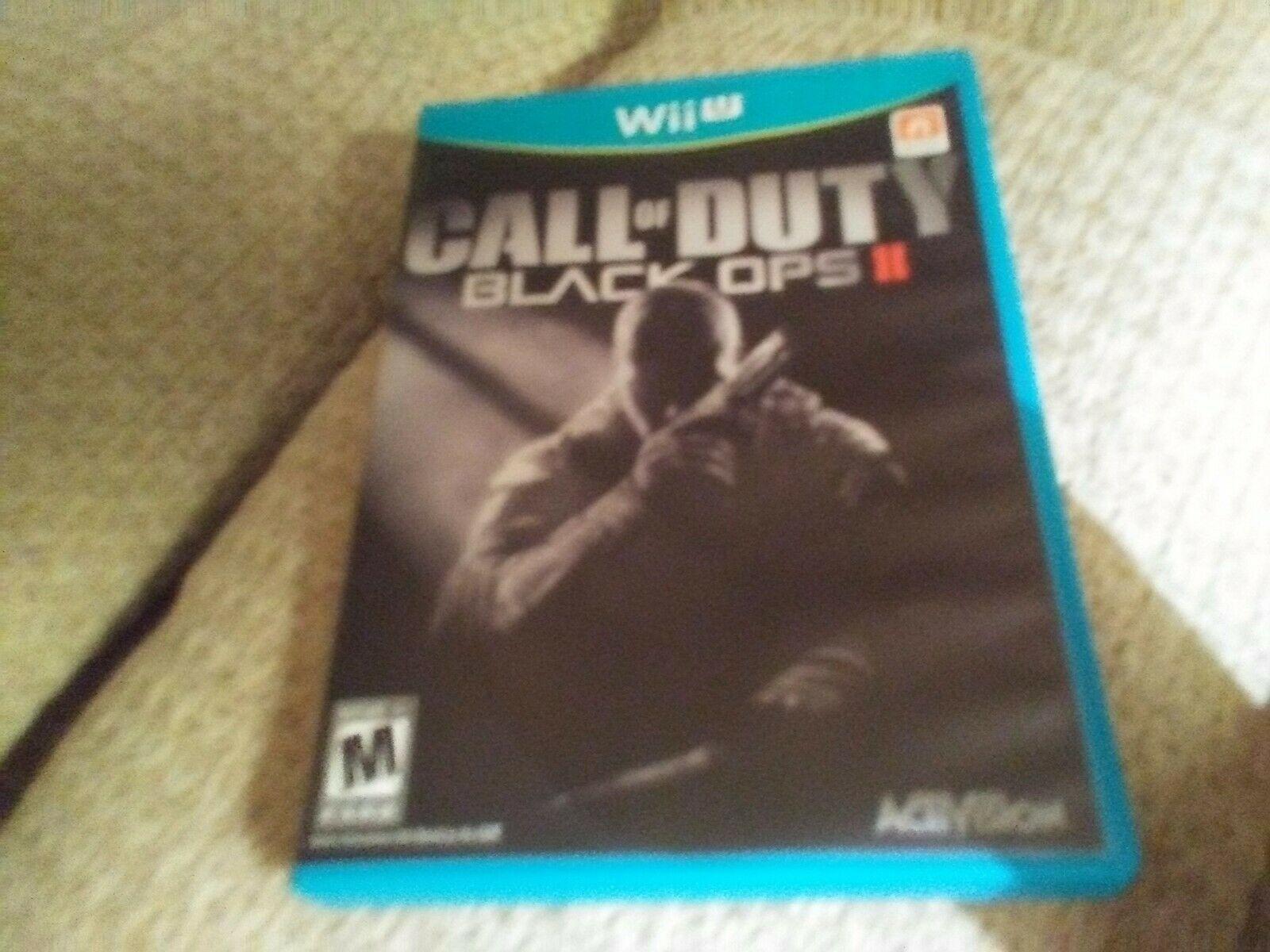 Call of Duty: Black Ops II (Nintendo Wii U, 2012) image 3