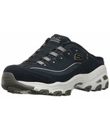 Skechers D'lites Shoes Women Navy Slip On Clog Casual Comfort Memory Foa... - $39.99