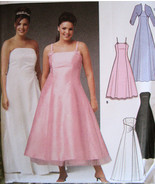 Simplicity 5207 New Evening Dress Bolero Pattern 18W to 24W Prom Brides Maid - $8.95