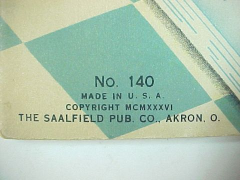 "1936 Saalfield Pub.Co.  ""Story Book""  Childrens Book by D & D  Downs"