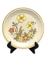 2 Hearthside Garden Festival Stoneware Dinner Plates SUNSHINE FLOWERS Japan - $29.69