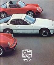 1979 PORSCHE full line sales brochure catalog 924 928 911 SC Targa Turbo - $10.00