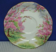 "BLOSSOM TIME Royal Albert 5 1/2"" REPLACEMENT SAUCER England NO CUP - $9.69"