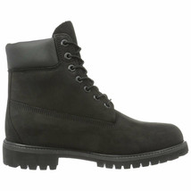 Timberland Men's 6'' Premium Boot Black Nubuck TB010073-001 - $138.95