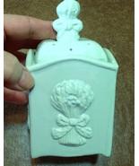 Ceramic Ginger Jar Candle - Gingham Scent - Pastel Green - $15.50