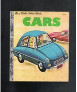 Cars, A Little Golden Book, #210-513   1973 by Western Publishing Co - $3.25