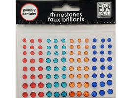 MAMBI Primary Rhinestone Stickers, Playmates #RWA-01