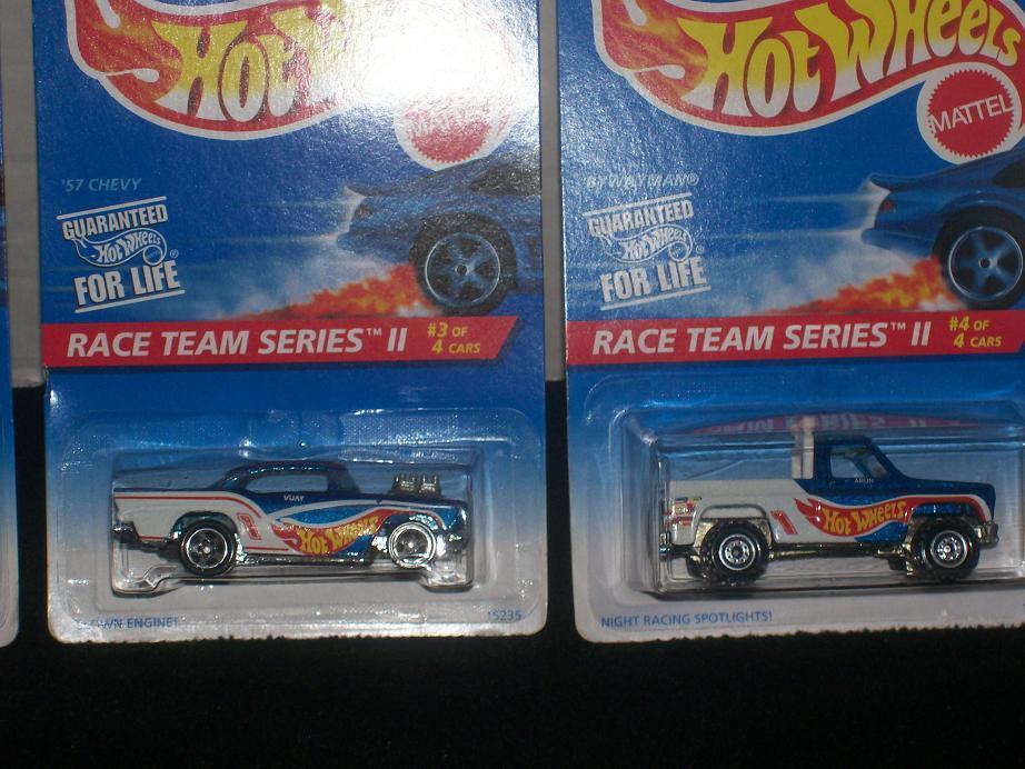 HOT WHEELS, 1996 Race Team Series II