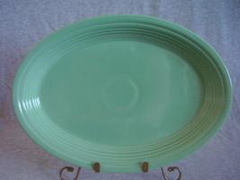 Fiestaware Contemporary Seamist Oval Platter - $18.40
