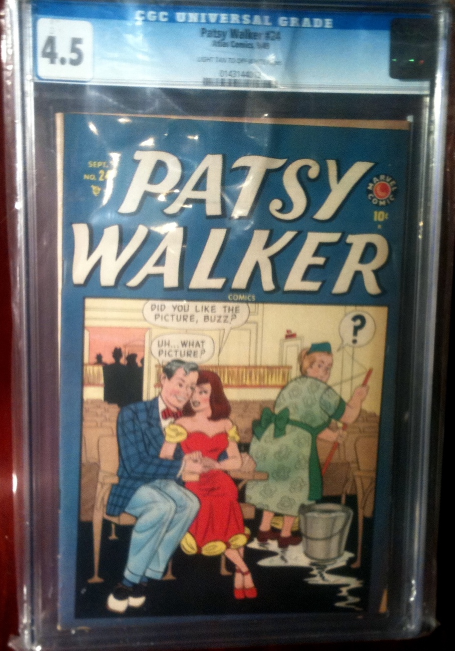 Patsy Walker # 24 CGC Graded 4.5 VG+