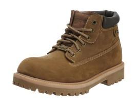Skechers Mens Sergeants-Verdict Ankle Boots Beige (Dsch) 13 UK - £100.02 GBP
