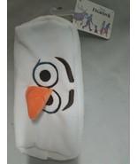 Disney Frozen 2 Pencil Case Olaf Snowman White Velvet - $9.89