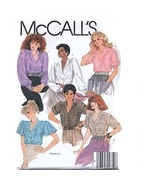 McCall's 8903 Misses' Blouses Pattern - Size 18 - $8.99