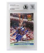 Shaquille O'Neal Signed Magic 1992-93 Fleer Ultra #328 - Beckett Auto Grade 10 - $494.01