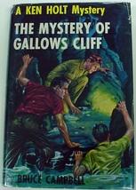 Ken Holt #15 Mystery of Gallows Cliff HTF 1st Ed 1st Print hcdj Bruce Ca... - $48.00