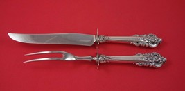 Grande Baroque by Wallace Sterling Silver Steak Carving Set HHWS 2pc - $159.00