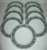 Ekco Prudence Baronesse Bread Plates #328 Set of 9 - $56.06
