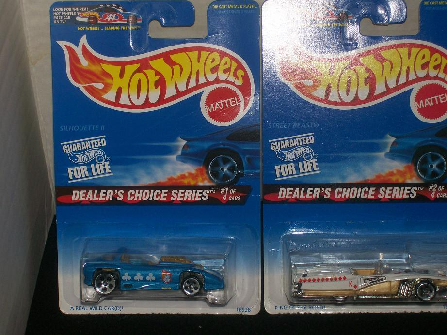 Hot Wheels Dealer's Choice Series Set Of 4