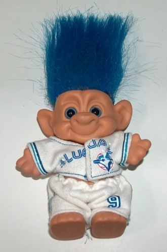 Primary image for Forest Troll Toronto Blue Jays World Series 1992