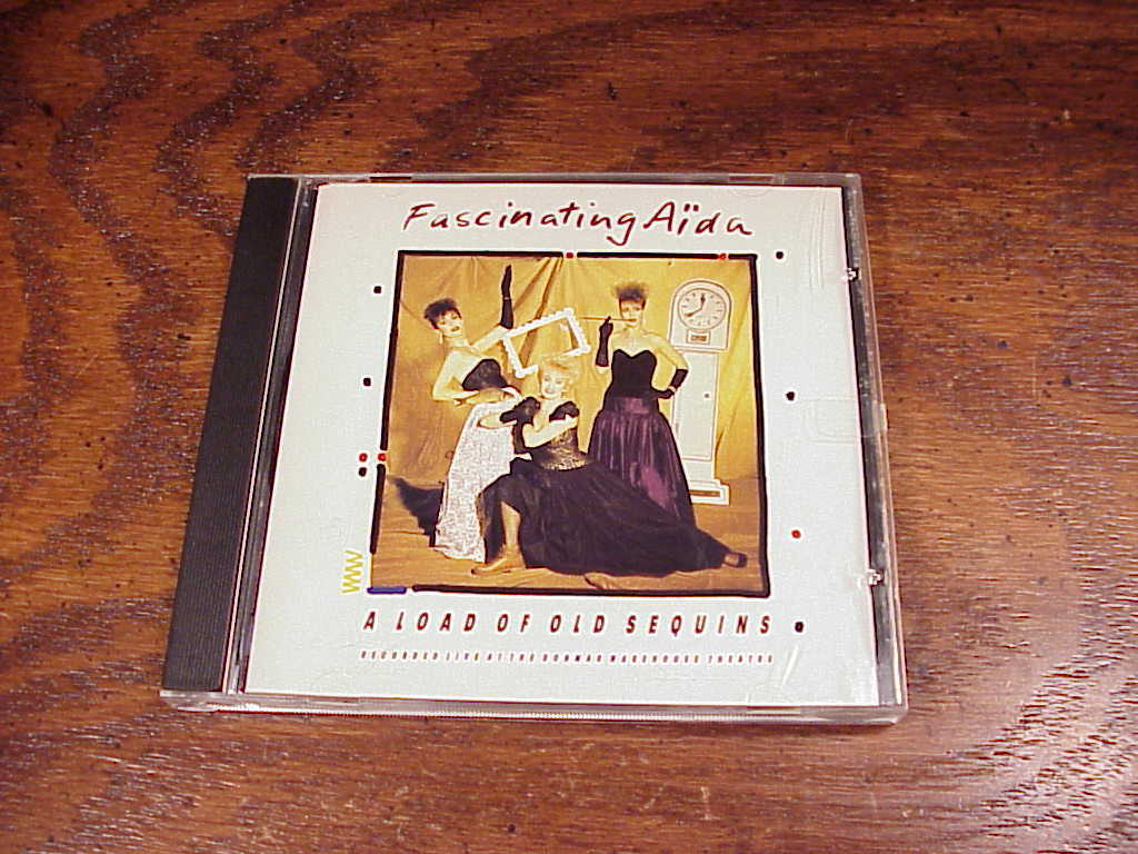Fascinating Aidu A Load of Old Sequins CD, used