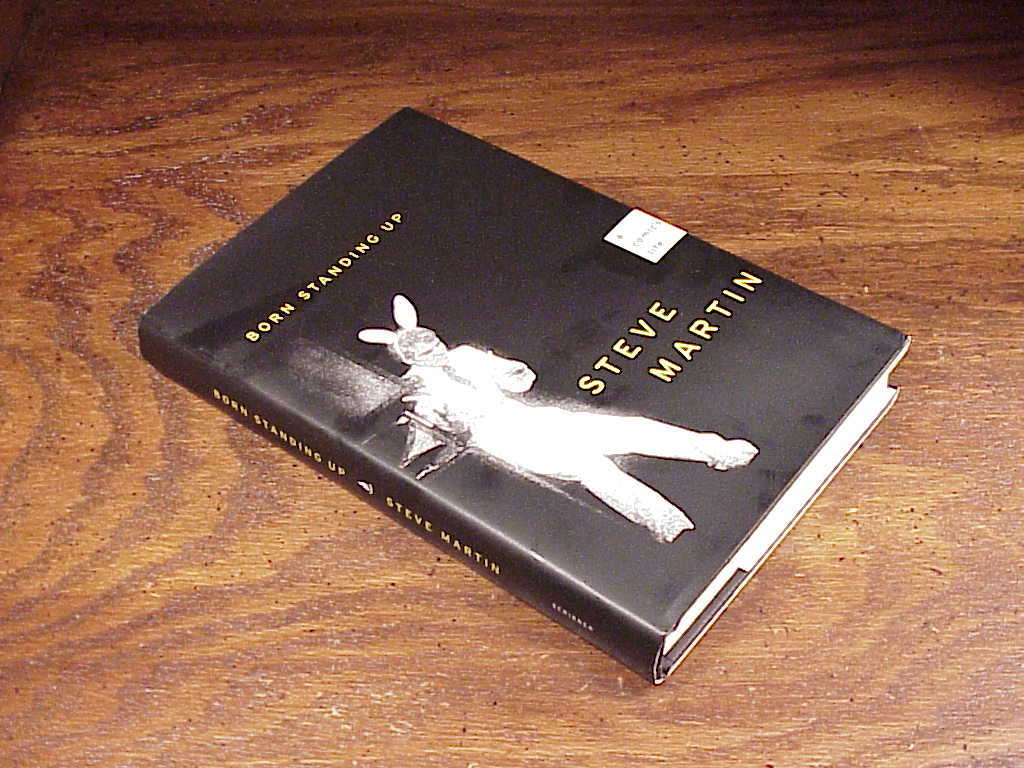 Born Standing Up Hardback Book Steve Martin 1st ed